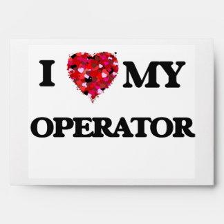 Amo a mi operador sobre
