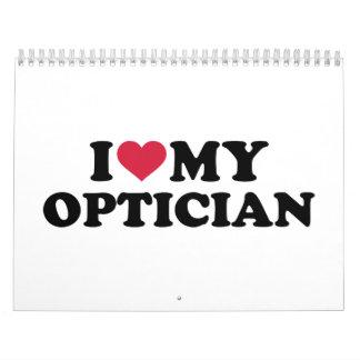 Amo a mi óptico calendario