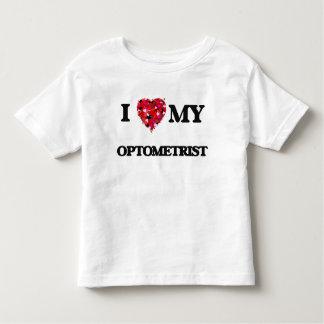 Amo a mi optometrista playeras