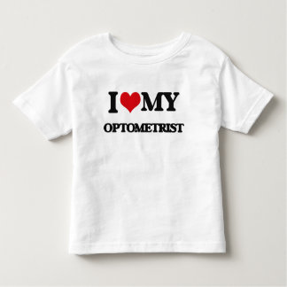 Amo a mi optometrista playera