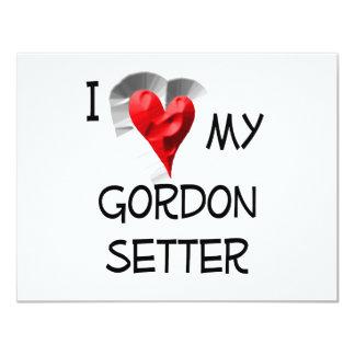 """Amo a mi organismo de Gordon Invitación 4.25"""" X 5.5"""""""