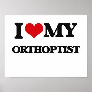 Amo a mi Orthoptist Poster