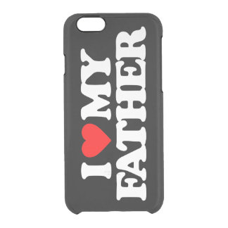AMO A MI PADRE FUNDA CLEAR PARA iPhone 6/6S