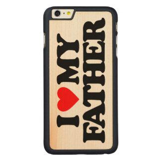 AMO A MI PADRE FUNDA DE ARCE CARVED® PARA iPhone 6 PLUS SLIM