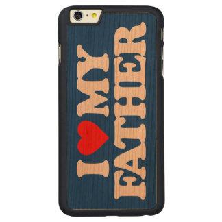 AMO A MI PADRE FUNDA DE CEREZO CARVED® PARA iPhone 6 PLUS