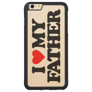 AMO A MI PADRE FUNDA PARA iPhone 6 PLUS DE CARVED® DE NOGAL