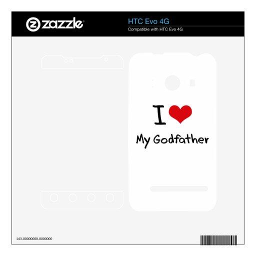 Amo a mi padrino skin para el HTC evo 4G