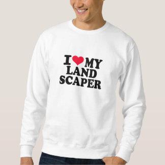 Amo a mi paisajista suéter