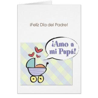 ¡Amo a mi papá! Card