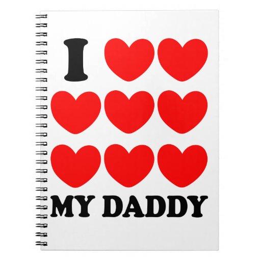 Amo a mi papá cuadernos