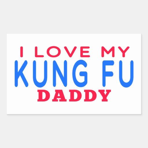 Amo a mi papá de Kung Fu Rectangular Altavoces