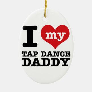 Amo a mi papá del bailarín de golpecito ornato