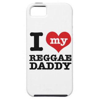 Amo a mi papá del bailarín del reggae funda para iPhone 5 tough