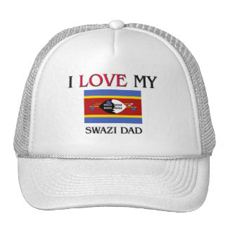 Amo a mi papá del Swazi Gorros Bordados