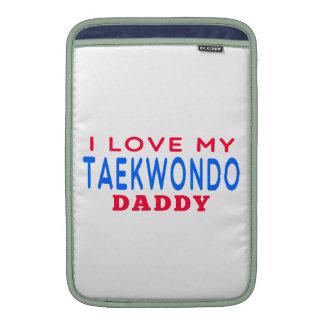 Amo a mi papá del Taekwondo Funda MacBook