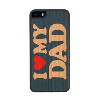 AMO A MI PAPÁ FUNDA DE CEREZO CARVED® PARA iPhone 5