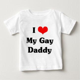 Amo a mi papá gay playeras