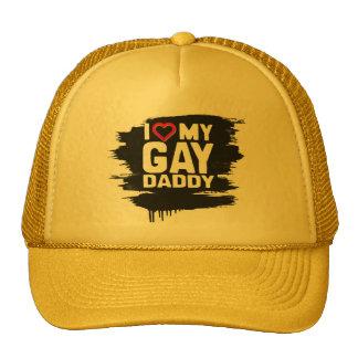 AMO A MI PAPÁ GAY - - .PNG GORRO
