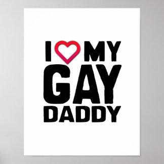 AMO A MI PAPÁ GAY - .PNG PÓSTER