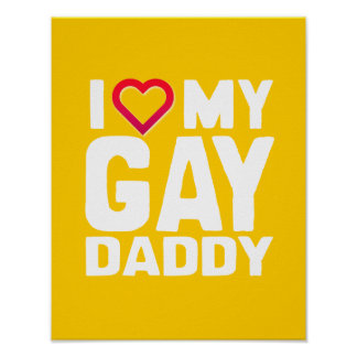 AMO A MI PAPÁ GAY - - .PNG PÓSTER
