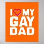 AMO A MI PAPÁ GAY POSTERS