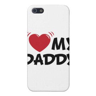 Amo a mi papá iPhone 5 funda