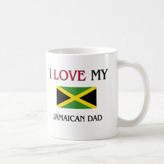 Amo a mi papá jamaicano taza clásica