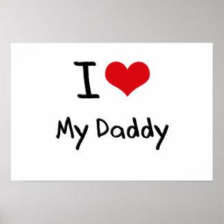 Amo a mi papá póster