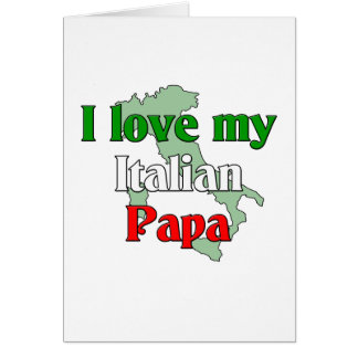 Amo a mi papá tarjeta de felicitación