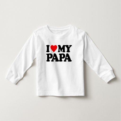 AMO A MI PAPÁ TEE SHIRTS