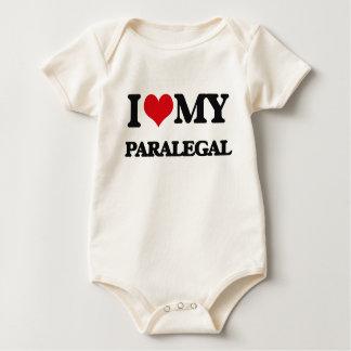 Amo a mi Paralegal Body De Bebé