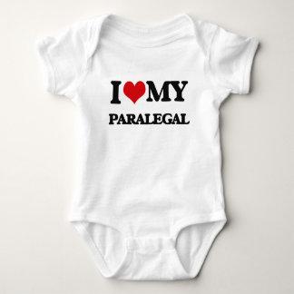 Amo a mi Paralegal Camisas