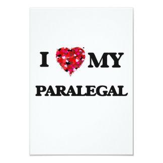 """Amo a mi Paralegal Invitación 3.5"""" X 5"""""""