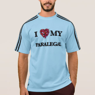 Amo a mi Paralegal Playera