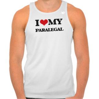 Amo a mi Paralegal Remeras