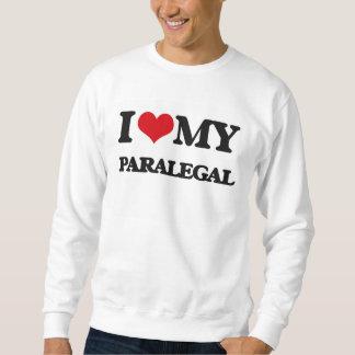 Amo a mi Paralegal Sudadera