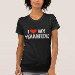 Amo a mi paramédico camisetas