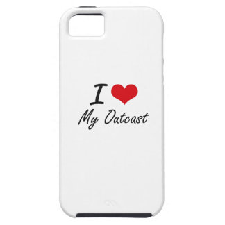 Amo a mi paria iPhone 5 carcasa