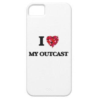 Amo a mi paria iPhone 5 carcasas