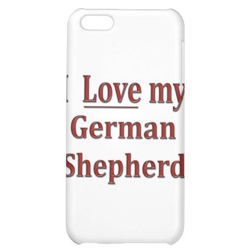 Amo a mi pastor alemán