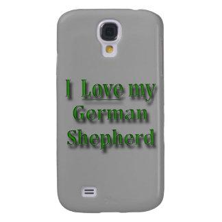 Amo a mi pastor alemán funda para galaxy s4