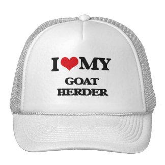 Amo a mi pastor de la cabra gorros