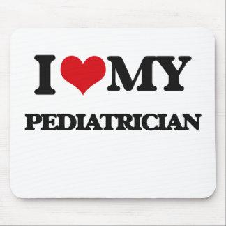 Amo a mi pediatra alfombrilla de ratones