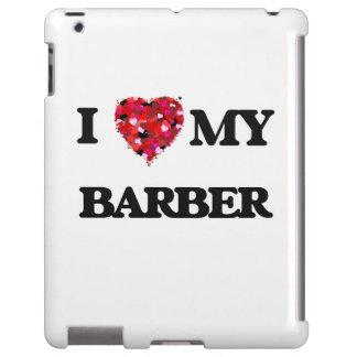 Amo a MI peluquero Funda Para iPad