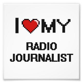 Amo a mi periodista de radio fotografía