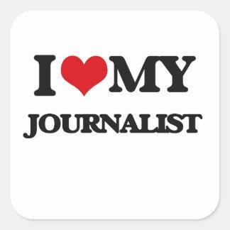 Amo a mi periodista etiquetas