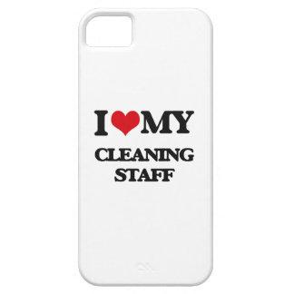 Amo a mi personal de limpieza iPhone 5 Case-Mate protector