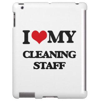 Amo a mi personal de limpieza