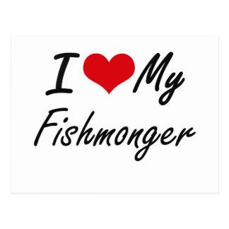 Amo a mi pescadero postal