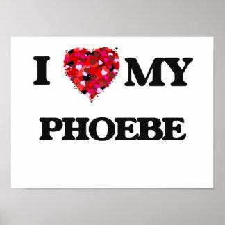 Amo a mi Phoebe Póster